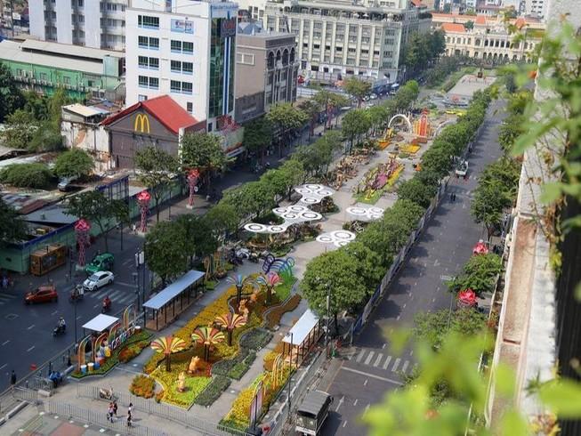 Điều chỉnh giao thông khu vực trung tâm TP.HCM