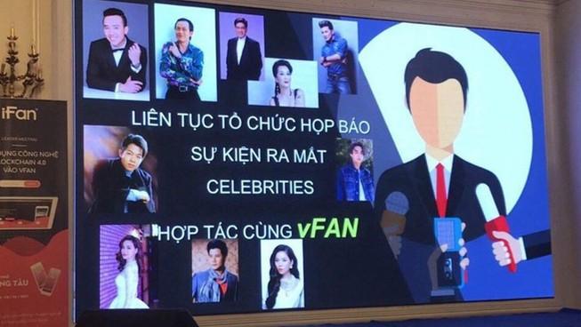 Một hình ảnh quảng bá của ifan mượn danh các nghệ sỹ nổi tiếng