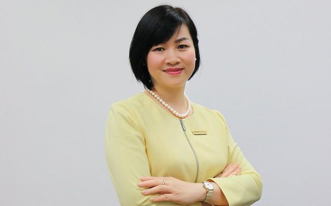 Bà Dương Thị Mai Hoa lãnh đạo ngân hàng ABBank hồi tháng 5/2018