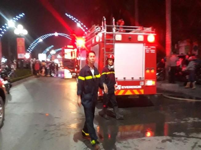 Cháy tòa nhà dầu khí Thanh Hóa, 1 người chết, 8 bị thương