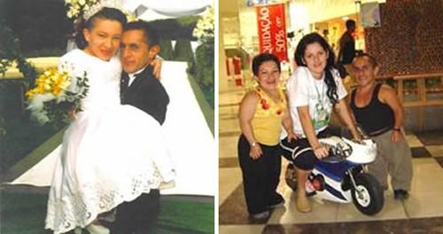 Những cặp vợ chồng 'có một không hai' trên thế giới
