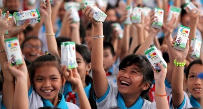 Quỹ sữa Vươn cao Việt Nam đến Cần Thơ