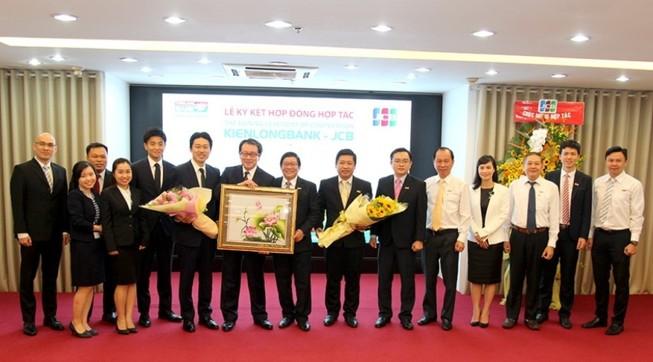 Kiên Long, JCB: Hợp tác phát triển dịch vụ thẻ quốc tế