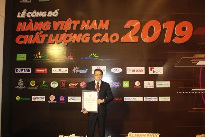 Vedan được vinh danh Hàng Việt Nam chất lượng cao 2019