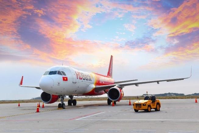Ảnh hưởng của cơn bão Mun, Vietjet điều chỉnh lịch bay  