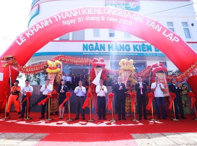 Khánh thành trụ sở mới Kienlongbank Tân Lập