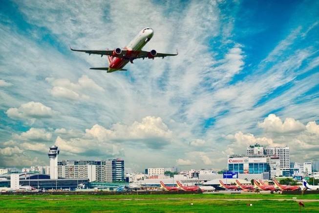 Ảnh hưởng bão Faxai, Vietjet hoãn giờ một số chuyến bay