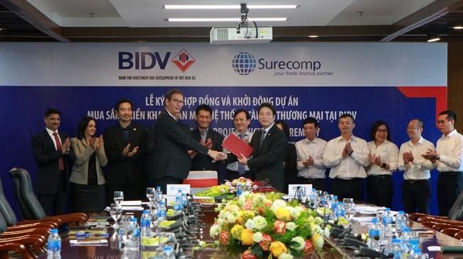 BIDV: Mua sắm, triển khai phần mềm hệ thống tài trợ thương mại