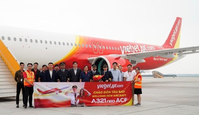 Tàu bay A321neo ACF 240 ghế đầu tiên trên thế giới xuất hiện
