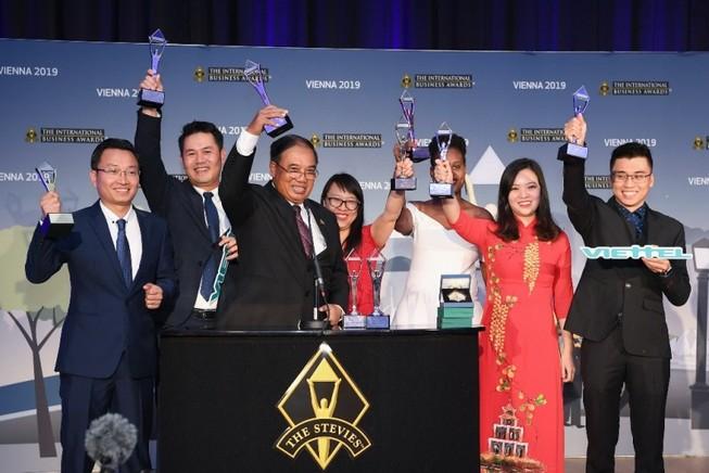 Viettel thắng lớn tại giải thưởng của giới kinh doanh quốc tế