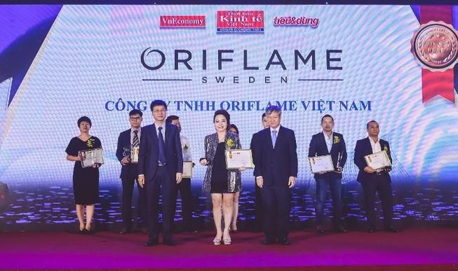 Oriflame: Top 100 sản phẩm dịch vụ Tin & dùng Việt Nam