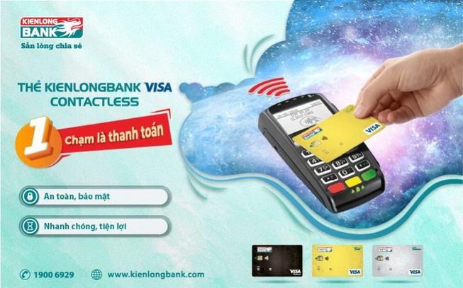 Kienlongbank ra mắt thẻ không cần chạm, tiện ích vượt trội