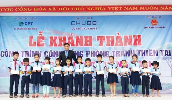 Khánh thành trường học tại Huế với tổng tài trợ 2,5 tỉ đồng