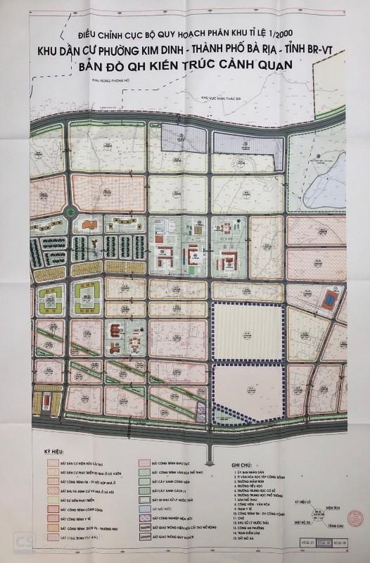 Đang xem xét quy hoạch 1/500 khu nhà ở thương mại Kim Dinh