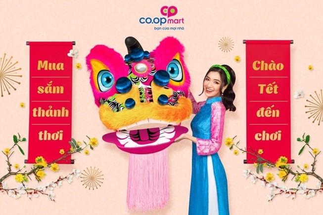 Saigon Co.op đồng hành cùng Bích Phương trong MV 'Em chào Tết'