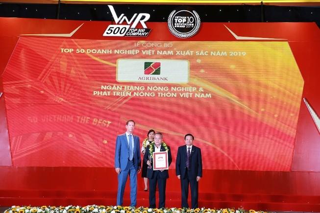 Agribank - Tốp 10 doanh nghiệp lớn nhất Việt Nam năm 2019
