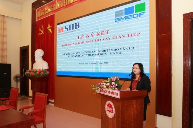 SHB đưa nguồn vốn giá rẻ đến các doanh nghiệp nhỏ và vừa