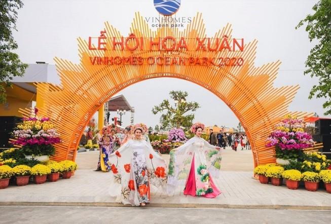 Đằng sau thành công của hội hoa xuân lớn tại Việt Nam 2020