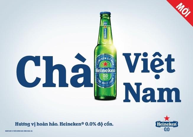 Heineken Việt Nam ra mắt bia không cồn