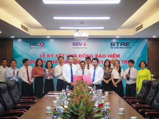 BIC sẽ bảo hiểm Dự án Nhà máy Điện gió Bến Tre V1-3