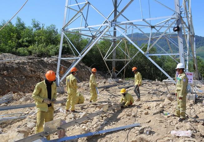 Dự án đường dây 500 kV mạch 3 vướng giải phóng mặt bằng