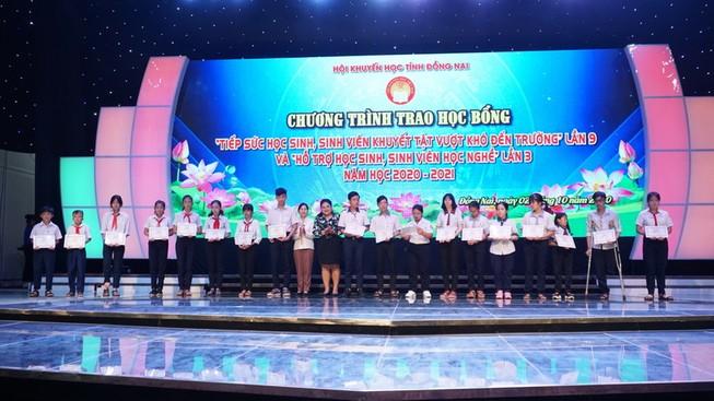 Vedan trao học bổng cho học sinh sinh viên tỉnh Đồng Nai