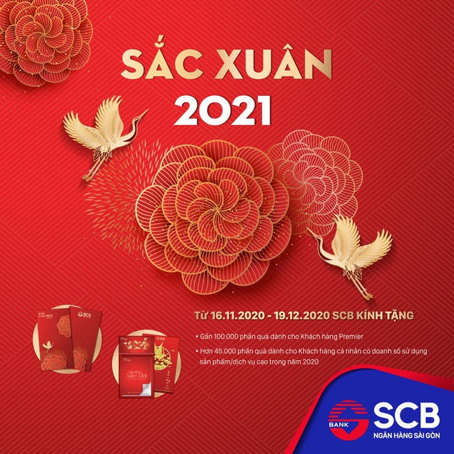 Tưng bừng sắc Xuân 2021 cùng SCB