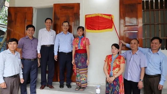 EVNGENCO1, Thủy điện Bản Vẽ tặng nhà tình nghĩa tại Nghệ An