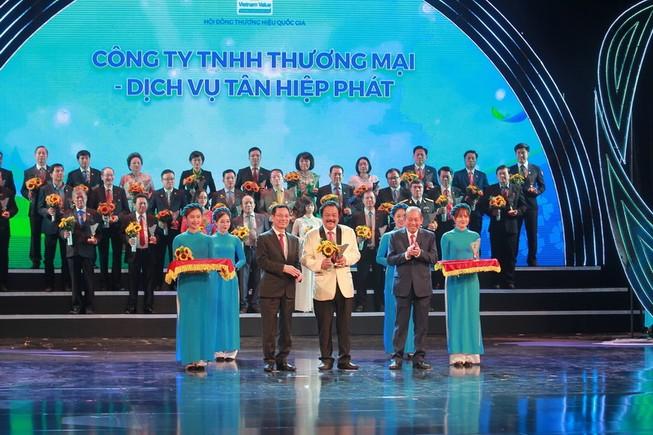 Sản phẩm Tân Hiệp Phát 6 lần đạt Thương hiệu Quốc gia