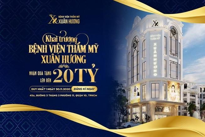 Thương hiệu thẩm mỹ Xuân Hương chính thức có mặt tại TP.HCM