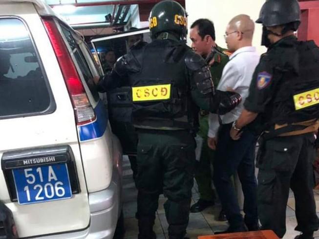 Chủ tịch Alibaba Nguyễn Thái Luyện vẫn nhậu đêm trước bị bắt