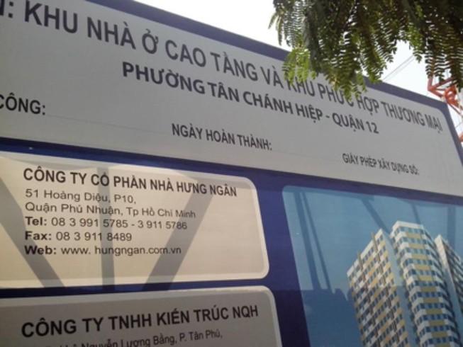 Bán đấu giá chung cư từng xây dựng không phép