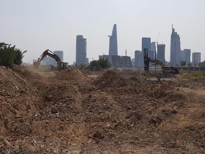 Đấu giá ngay 9 lô đất trong khu đô thị Thủ Thiêm