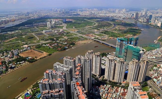 Triển khai lắp đặt bốn tên đường mới cho Khu đô thị Thủ Thiêm