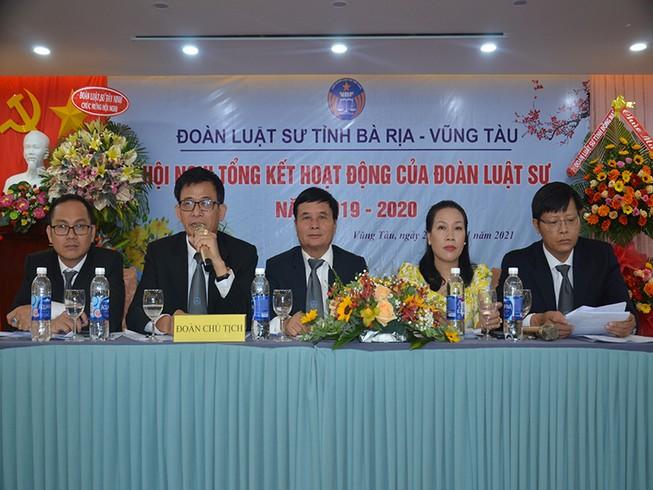 Đoàn Luật sư tỉnh Bà Rịa-Vũng Tàu lớn thứ 6 trên cả nước