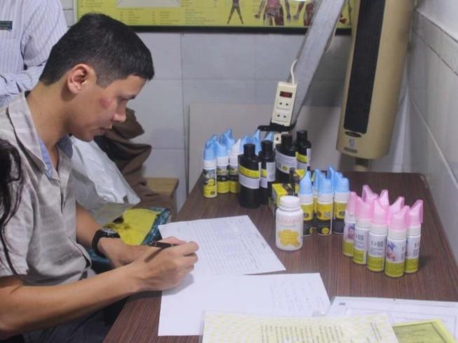Phát hiện nhiều sản phẩm Vinaca tại TP.HCM