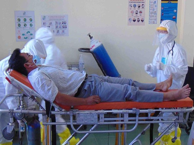 TP.HCM: 16 người cách ly ngừa COVID-19 ở bệnh viện dã chiến