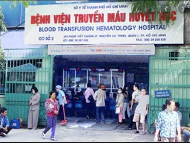 BV Truyền máu huyết học TP.HCM cho bệnh nhi dùng thuốc hết hạn