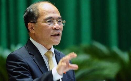 Chủ tịch Quốc hội Nguyễn Sinh Hùng: Hòa bình và an ninh đang bị đe dọa