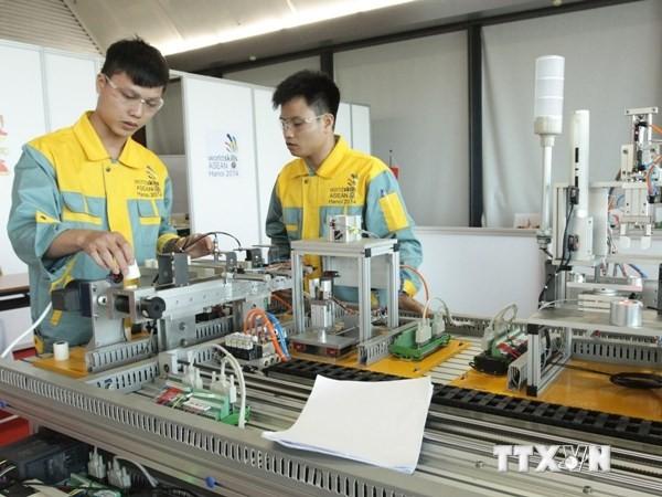 Việt Nam nhất toàn đoàn kỳ thi nghề Asean