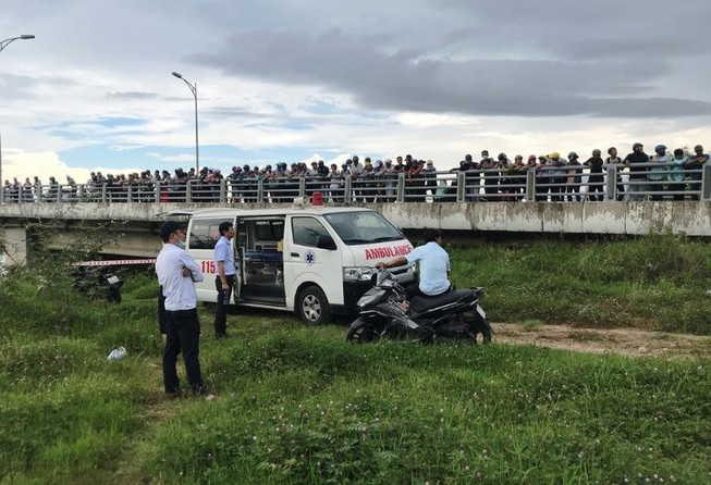 Đà Nẵng: Nam thanh niên tử vong dưới gầm cầu Hòa Xuân