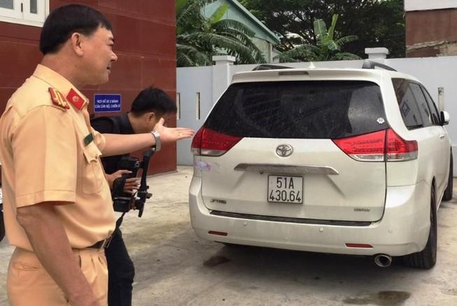 Ô tô mang biển số giả nhiều lần vi phạm giao thông ở Đà Nẵng