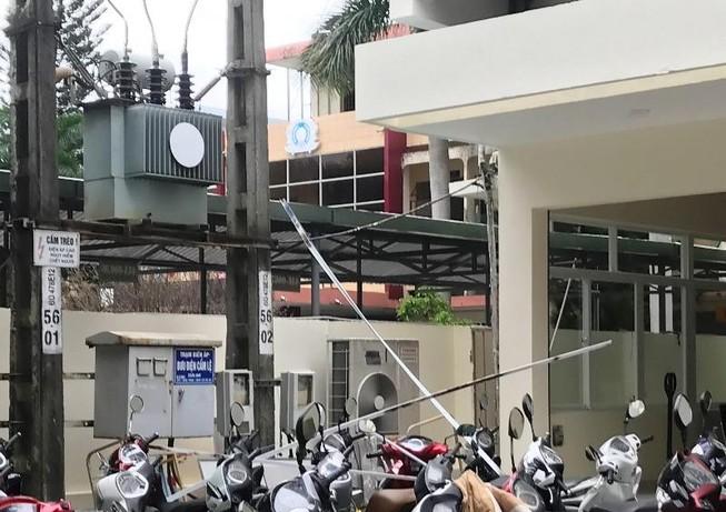 Nam công nhân bị điện giật tại công trình bưu điện ở Đà Nẵng