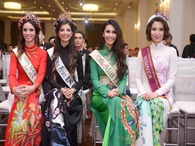 Người đẹp quốc tế ồ ạt đến 'Hoa khôi du lịch VN'