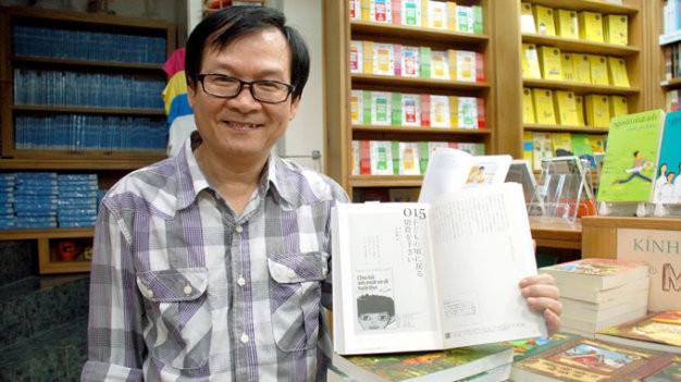 Xem kịch và được Nguyễn Nhật Ánh ký tặng sách