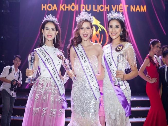 Khánh Ngân đăng quang 'Hoa khôi Du lịch Việt Nam 2017'