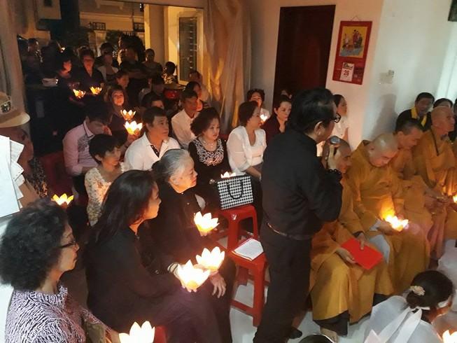 Nghẹn ngào đêm cuối tiễn biệt nghệ sĩ Thanh Sang