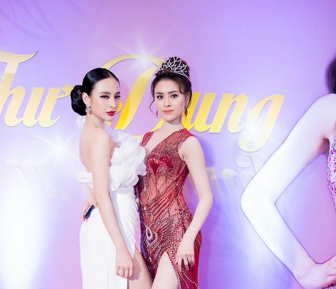 Ngắm hoa hậu sắc đẹp hoàn mỹ toàn cầu Thư Dung