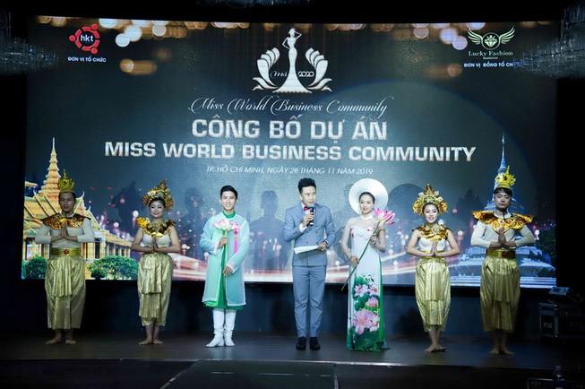 Hoa hậu Cộng đồng Doanh nhân Thế giới 2020 tổ chức ở Campuchia