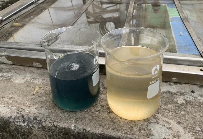 Bắt quả tang công ty xử lý nước thải xả trộm ra môi trường